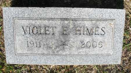 HIMES, VIOLET E. - Montgomery County, Ohio | VIOLET E. HIMES - Ohio Gravestone Photos