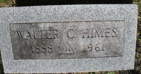 HIMES, WALTER C. - Montgomery County, Ohio | WALTER C. HIMES - Ohio Gravestone Photos