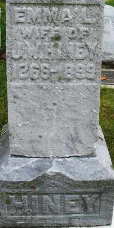HINEY, EMMA L. - Montgomery County, Ohio | EMMA L. HINEY - Ohio Gravestone Photos