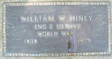 HINEY, WILLIAM W. - Montgomery County, Ohio | WILLIAM W. HINEY - Ohio Gravestone Photos