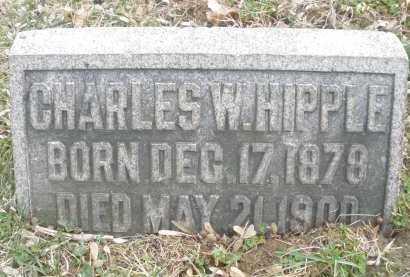 HIPPLE, CHARLES W. - Montgomery County, Ohio | CHARLES W. HIPPLE - Ohio Gravestone Photos