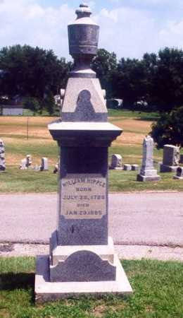 HIPPLE, WILLIAM - Montgomery County, Ohio | WILLIAM HIPPLE - Ohio Gravestone Photos