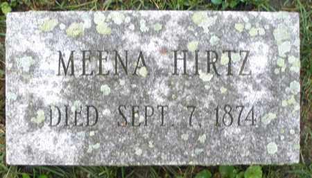 HIRTZ, MEENA - Montgomery County, Ohio | MEENA HIRTZ - Ohio Gravestone Photos