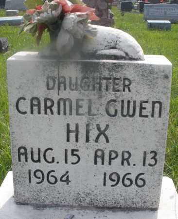 HIX, CARMEL GWEN - Montgomery County, Ohio | CARMEL GWEN HIX - Ohio Gravestone Photos