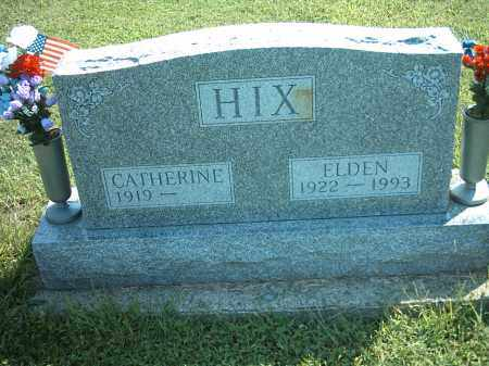 HIX, ELDEN - Montgomery County, Ohio | ELDEN HIX - Ohio Gravestone Photos