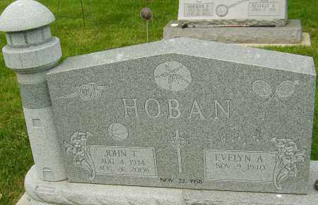 HOBAN, JOHN T - Montgomery County, Ohio | JOHN T HOBAN - Ohio Gravestone Photos