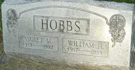 HOBBS, VIOLET M - Montgomery County, Ohio | VIOLET M HOBBS - Ohio Gravestone Photos