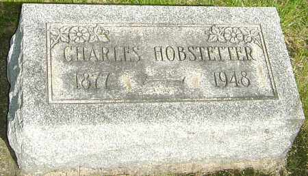 HOBSTETTER, CHARLES - Montgomery County, Ohio | CHARLES HOBSTETTER - Ohio Gravestone Photos