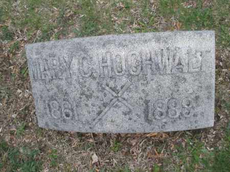HOCHWALT, MARY C - Montgomery County, Ohio | MARY C HOCHWALT - Ohio Gravestone Photos