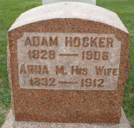 HOCKER, ANNA M. - Montgomery County, Ohio | ANNA M. HOCKER - Ohio Gravestone Photos