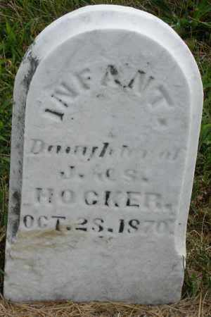 HOCKER, INFANT DAUGHTER - Montgomery County, Ohio | INFANT DAUGHTER HOCKER - Ohio Gravestone Photos