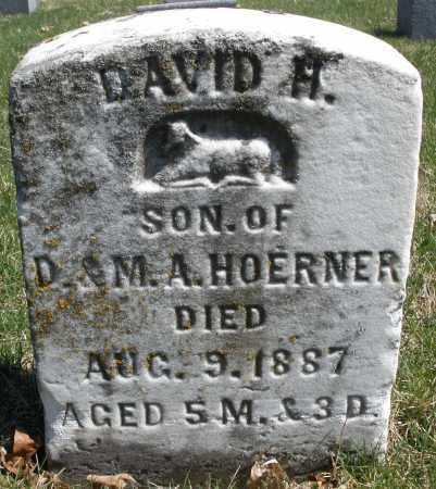 HOERNER, DAVID H. - Montgomery County, Ohio | DAVID H. HOERNER - Ohio Gravestone Photos