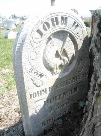 HOFFMAN, JOHN H. - Montgomery County, Ohio | JOHN H. HOFFMAN - Ohio Gravestone Photos