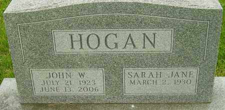 HOGAN, JOHN W - Montgomery County, Ohio | JOHN W HOGAN - Ohio Gravestone Photos