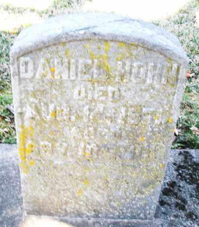 HOHN, DANIEL - Montgomery County, Ohio | DANIEL HOHN - Ohio Gravestone Photos