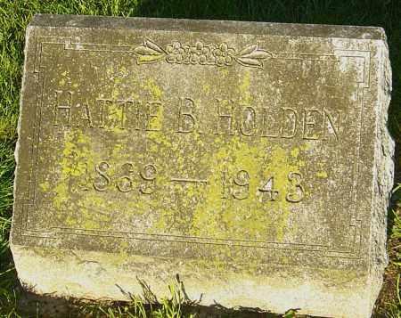 HOLDEN, HATTIE B - Montgomery County, Ohio | HATTIE B HOLDEN - Ohio Gravestone Photos