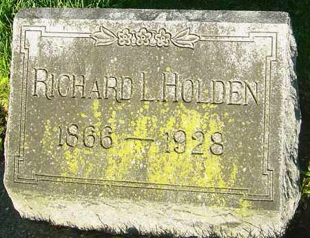 HOLDEN, RICHARD L - Montgomery County, Ohio | RICHARD L HOLDEN - Ohio Gravestone Photos