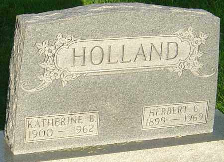 HOLLAND, KATHERINE B - Montgomery County, Ohio | KATHERINE B HOLLAND - Ohio Gravestone Photos