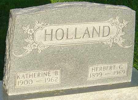 HOLLAND, KATHERINE B - Montgomery County, Ohio | KATHERINE B HOLLAND - Ohio Gravestone Photos
