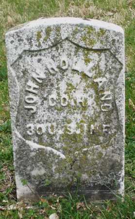 HOLLAND, JOHN - Montgomery County, Ohio | JOHN HOLLAND - Ohio Gravestone Photos