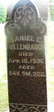 HOLLENBAUGH, DANIEL E. - Montgomery County, Ohio | DANIEL E. HOLLENBAUGH - Ohio Gravestone Photos
