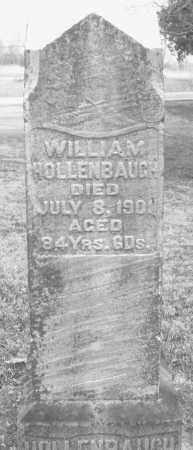 HOLLENBAUGH, WILLIAM - Montgomery County, Ohio | WILLIAM HOLLENBAUGH - Ohio Gravestone Photos