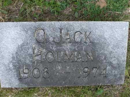 HOLMAN, O. JACK - Montgomery County, Ohio | O. JACK HOLMAN - Ohio Gravestone Photos