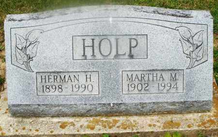 HOLP, MARTHA M. - Montgomery County, Ohio | MARTHA M. HOLP - Ohio Gravestone Photos