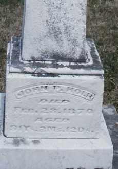 HOLP, JOHN P. - Montgomery County, Ohio | JOHN P. HOLP - Ohio Gravestone Photos