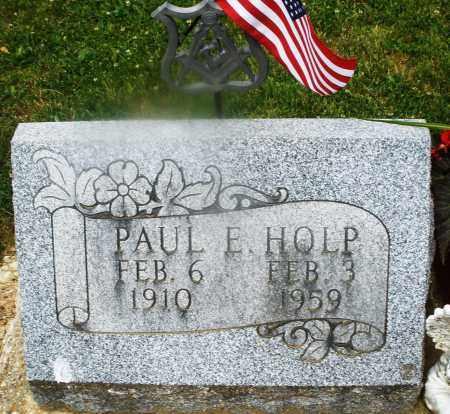 HOLP, PAUL E. - Montgomery County, Ohio | PAUL E. HOLP - Ohio Gravestone Photos