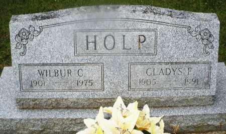 HOLP, GLADYS E. - Montgomery County, Ohio | GLADYS E. HOLP - Ohio Gravestone Photos