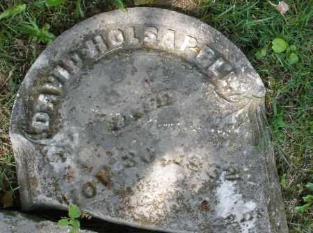 HOLSAPPLE, DAVID - Montgomery County, Ohio | DAVID HOLSAPPLE - Ohio Gravestone Photos
