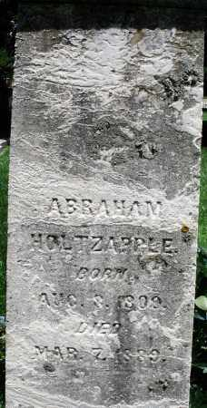 HOLTZAPPLE, ABRAHAM - Montgomery County, Ohio | ABRAHAM HOLTZAPPLE - Ohio Gravestone Photos