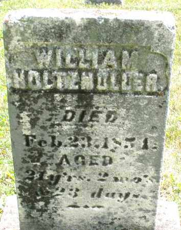 HOLTZMULLER, WILLIAM - Montgomery County, Ohio | WILLIAM HOLTZMULLER - Ohio Gravestone Photos