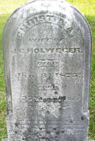HOLWEGER, CHRISTINA - Montgomery County, Ohio | CHRISTINA HOLWEGER - Ohio Gravestone Photos