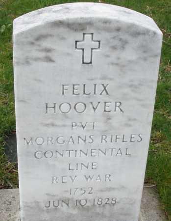 HOOVER, FELIX - Montgomery County, Ohio | FELIX HOOVER - Ohio Gravestone Photos