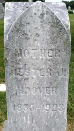 HOOVER, HESTER J. - Montgomery County, Ohio | HESTER J. HOOVER - Ohio Gravestone Photos