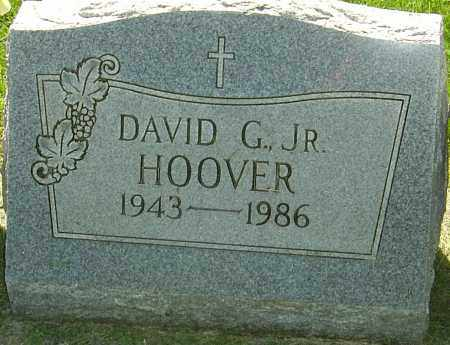 HOOVER JR, DAVID G - Montgomery County, Ohio | DAVID G HOOVER JR - Ohio Gravestone Photos