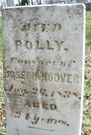 HOOVER, POLLY - Montgomery County, Ohio | POLLY HOOVER - Ohio Gravestone Photos