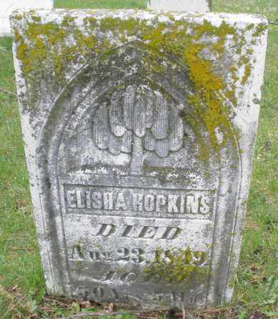 HOPKINS, ELISHA - Montgomery County, Ohio | ELISHA HOPKINS - Ohio Gravestone Photos