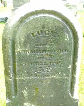 HOSIER, LUCY - Montgomery County, Ohio | LUCY HOSIER - Ohio Gravestone Photos