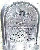 HOTTERFIELD, JOSEPH - Montgomery County, Ohio | JOSEPH HOTTERFIELD - Ohio Gravestone Photos