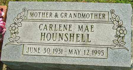 HOUNSHELL, CARLENE MAE - Montgomery County, Ohio | CARLENE MAE HOUNSHELL - Ohio Gravestone Photos
