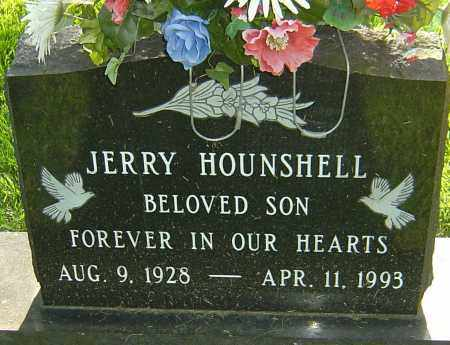 HOUNSHELL, JERRY - Montgomery County, Ohio | JERRY HOUNSHELL - Ohio Gravestone Photos
