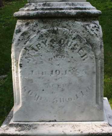 HOUSER, MARY - Montgomery County, Ohio | MARY HOUSER - Ohio Gravestone Photos