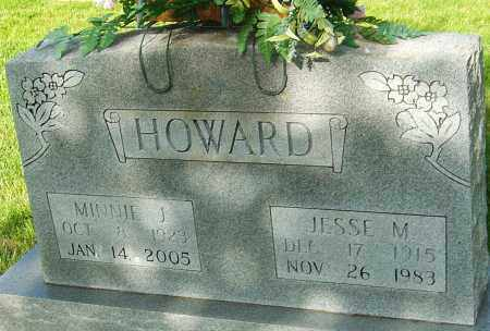 HOWARD, MINNIE J - Montgomery County, Ohio | MINNIE J HOWARD - Ohio Gravestone Photos