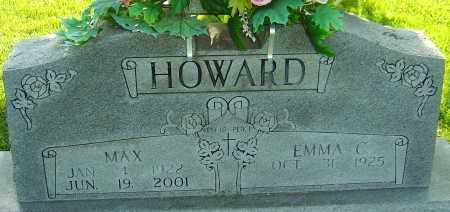 HOWARD, MAX - Montgomery County, Ohio | MAX HOWARD - Ohio Gravestone Photos