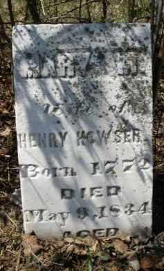 HOWSER, MARY M. - Montgomery County, Ohio | MARY M. HOWSER - Ohio Gravestone Photos