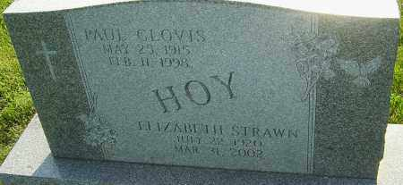 HOY, PAUL CLOVIS - Montgomery County, Ohio | PAUL CLOVIS HOY - Ohio Gravestone Photos