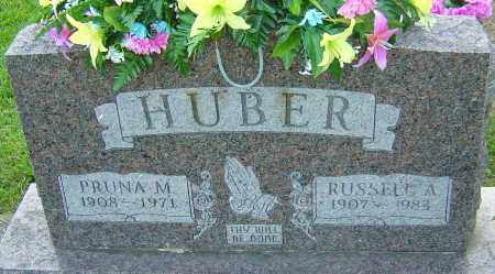 HUBER, PRUNA M - Montgomery County, Ohio | PRUNA M HUBER - Ohio Gravestone Photos